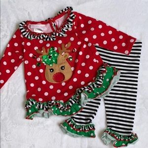Bonnie Baby Holiday Outfit Size 6-9 Months